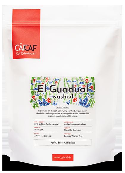 Kolubianischer Kaffee El Guadual