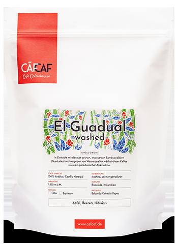 Kolubianischer Espresso und Filterkaffee El Guadual