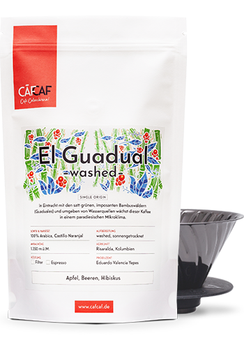 Kolubianischer Filterkaffee El Guadual