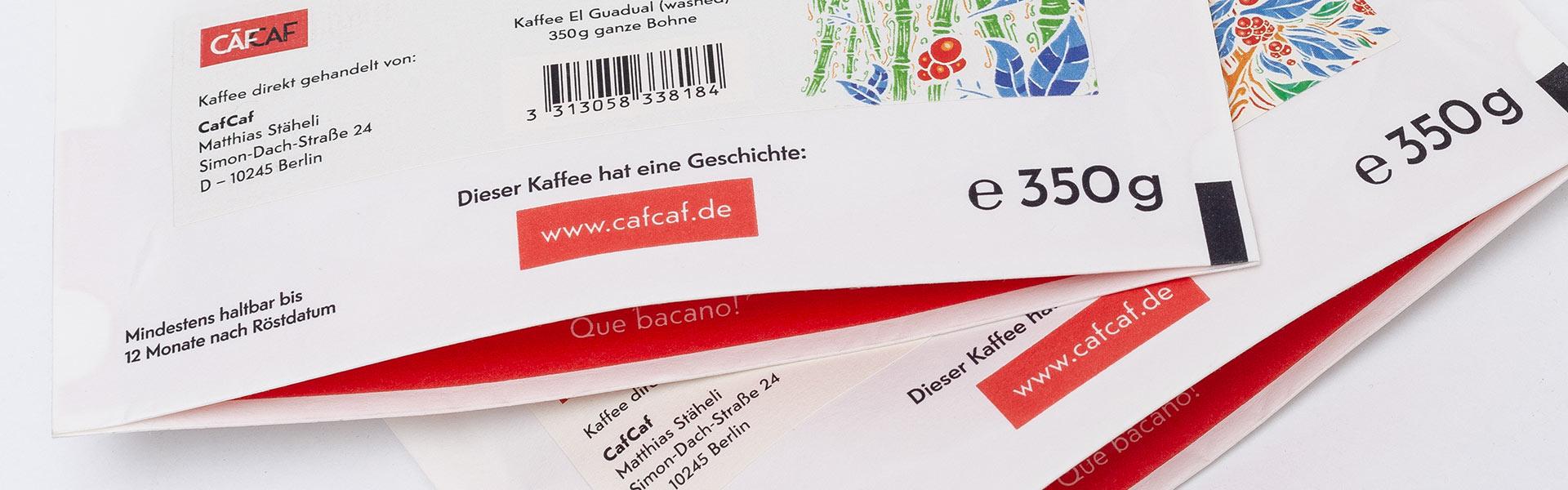 Unsere Kaffeeverpackungen: Liebe zum Detail