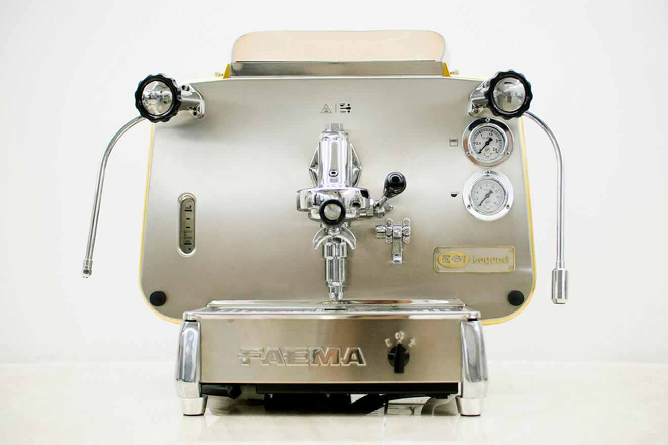 Eine Kaffee-Legende: Die Faema E61