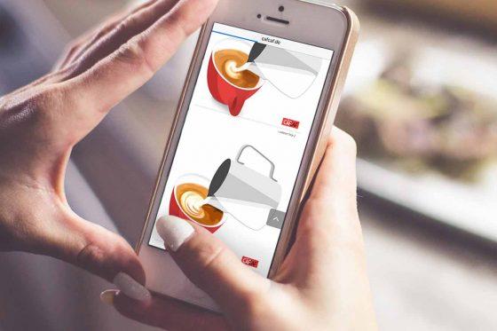 Kaffee-Apps