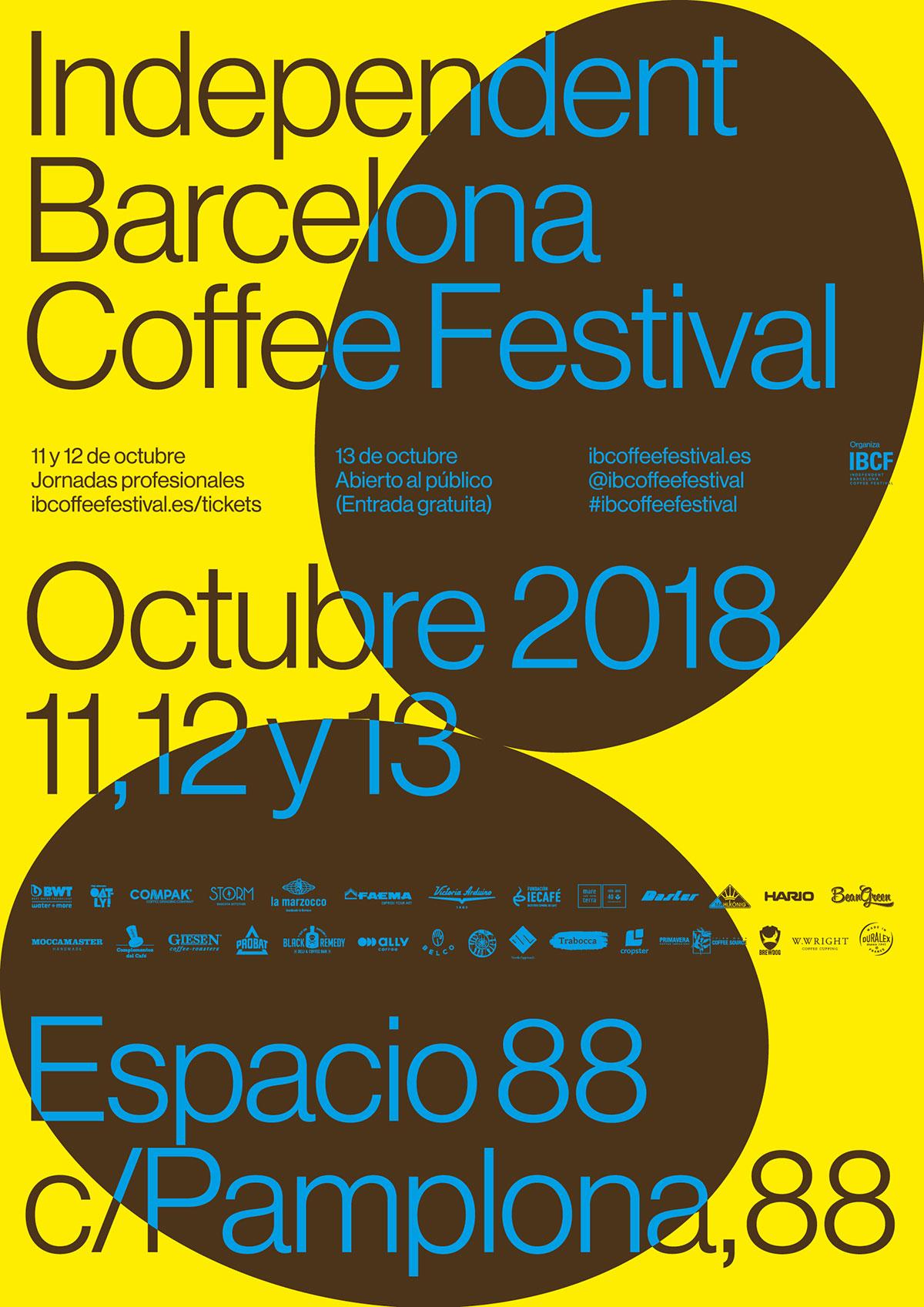 Kaffee-Events, Festival und Kalender: IBCF, Independent Barcelona Coffee Festival 2018. CafCaf – Kaffee & Blog, Kaffeeblog