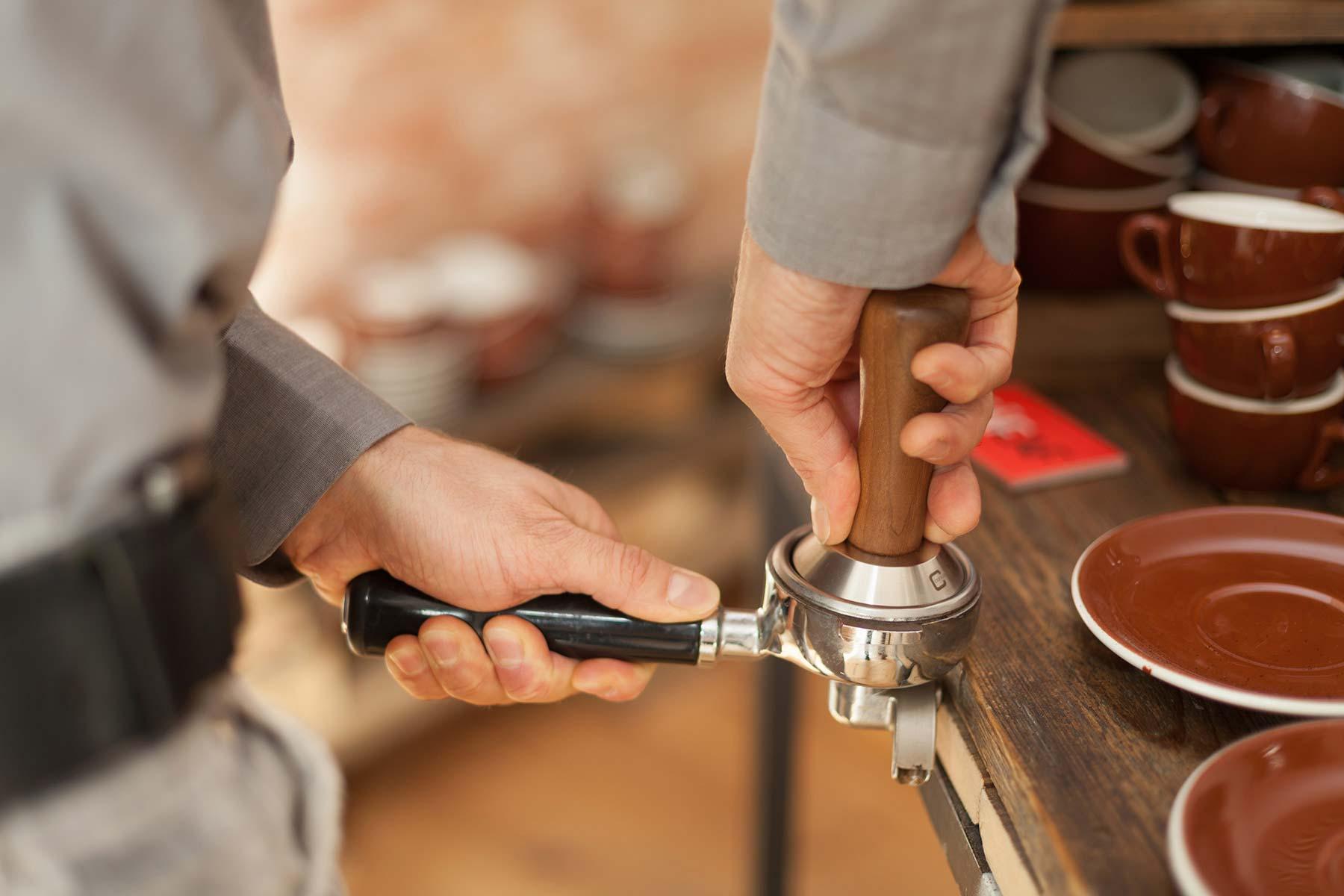 Die Mahlscheiben einer Kaffeemühle, die Technik. CafCaf.de – Kaffee & Blog, Kaffeeblog
