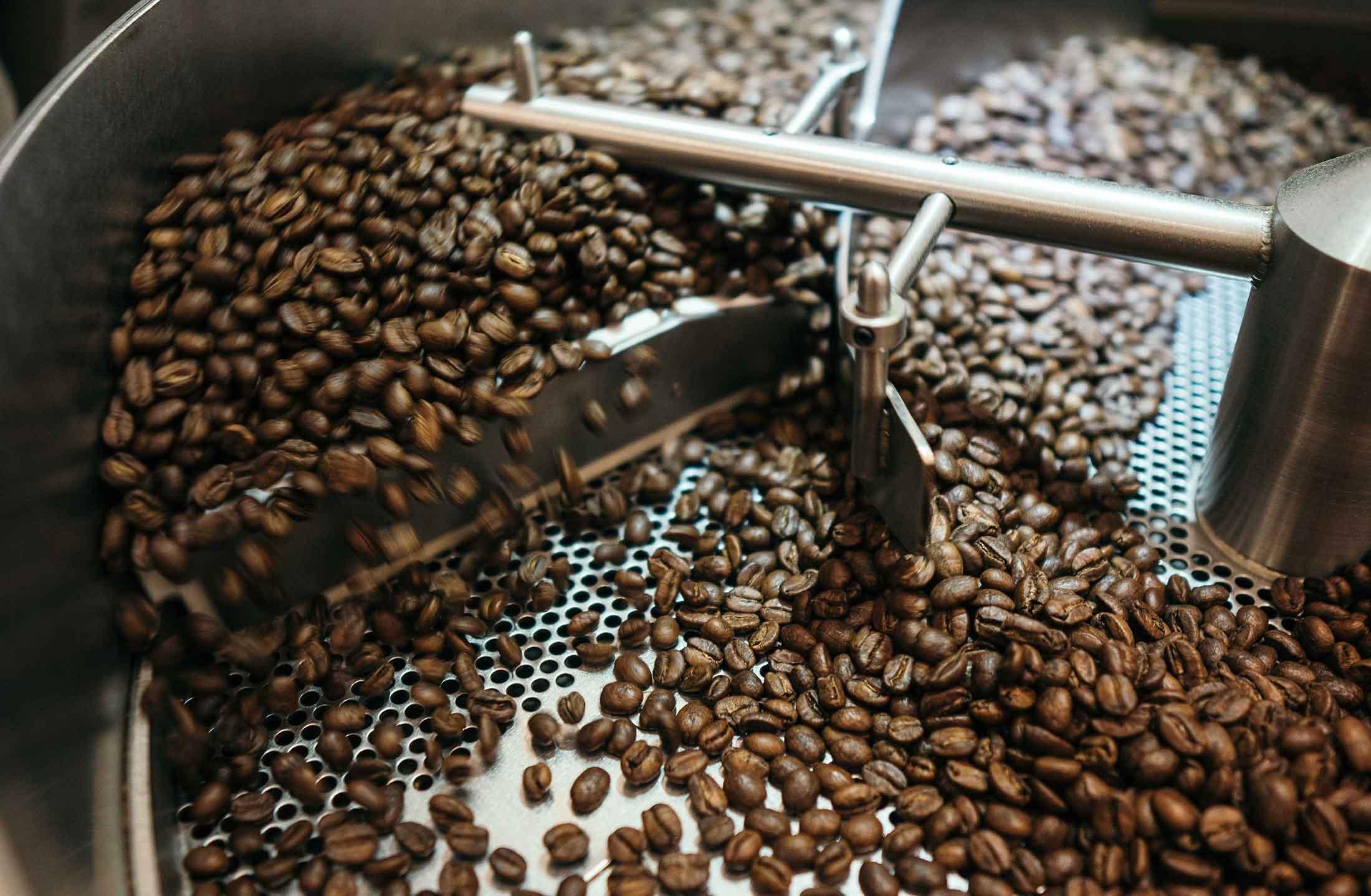 Kaffee Röstmaschine: Trommelröster