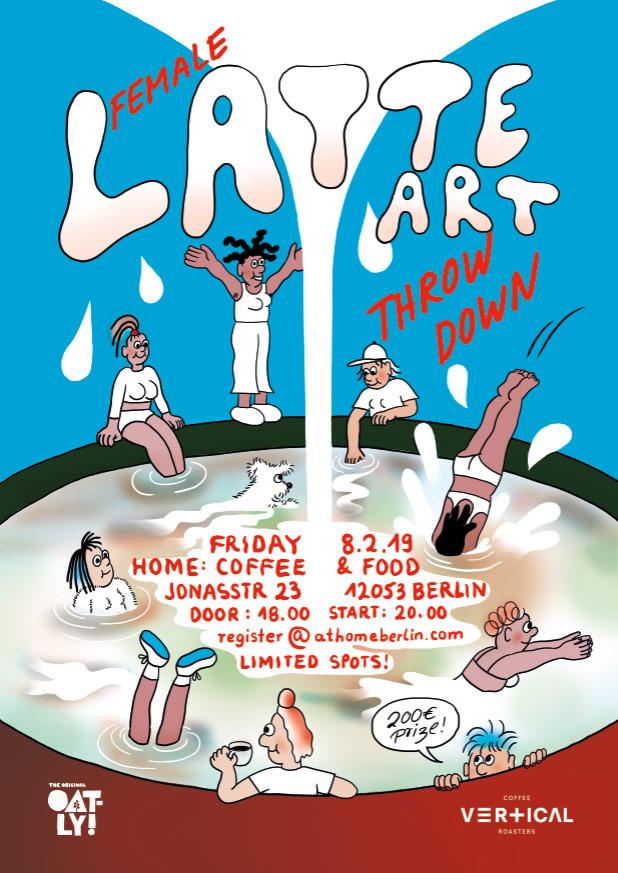 Kaffee-Events, Festival und Kalender: Berlin Latte Art Throw Down Festival. CafCaf – Kaffee & Blog, Kaffeeblog