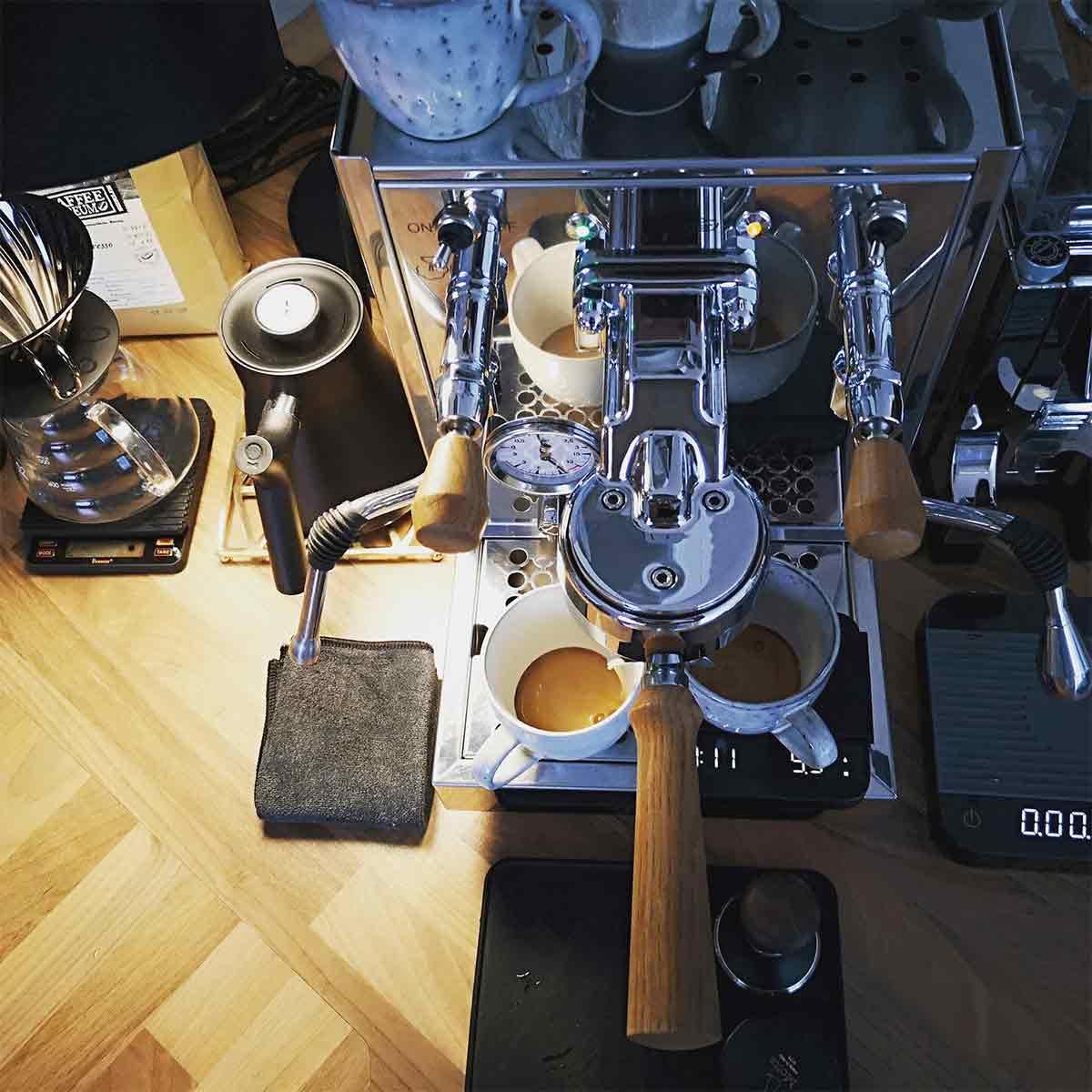 Foto deiner Kaffee-Ecke, your coffee corner: CafCaf – Kaffee & Blog, Kaffeeblog