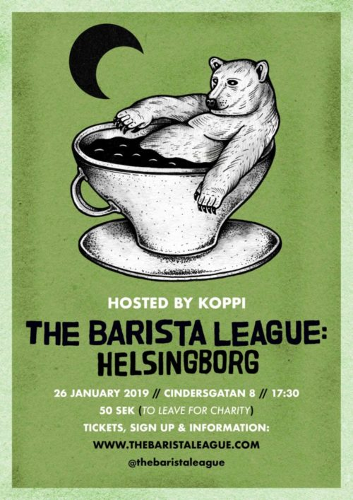 Kaffee-Events, Festival und Kalender: The Barista League Helsingborg. CafCaf – Kaffee & Blog, Kaffeeblog