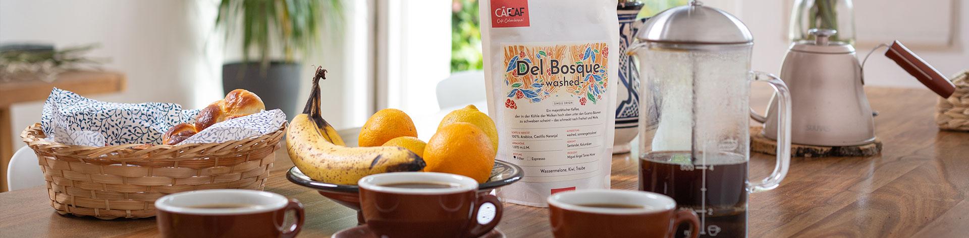CafCaf Kaffeeshop: Frischer Kaffee aus Kolumbien kaufen
