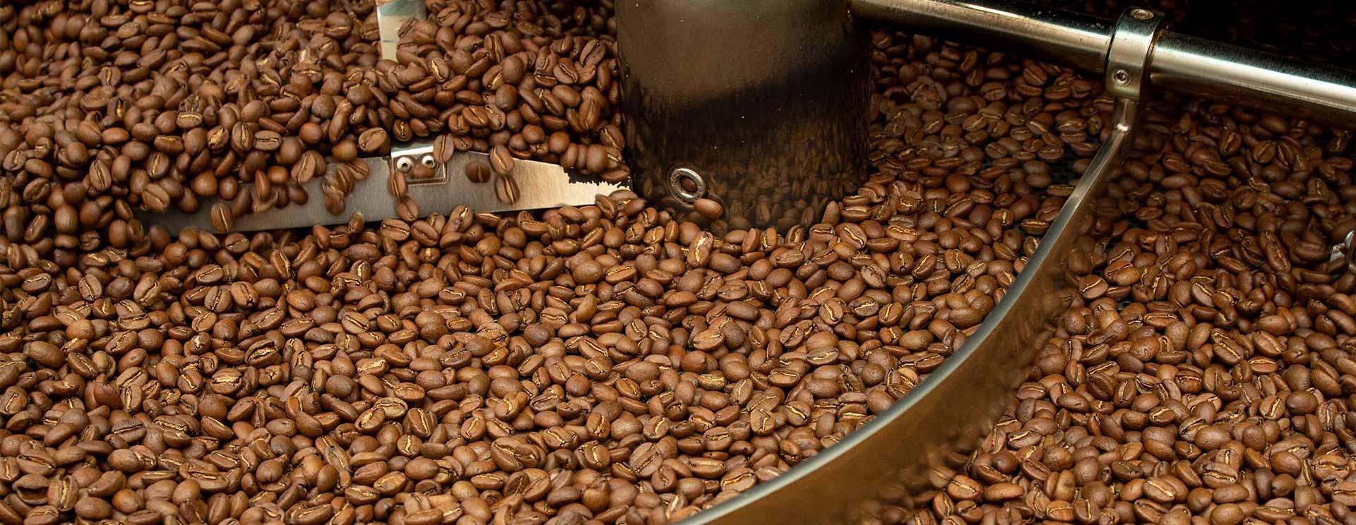 Frisch gerösteter Kaffee bei CafCaf