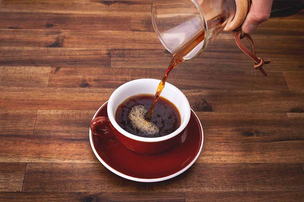 Chemex Filterkaffee im CafCaf Shop