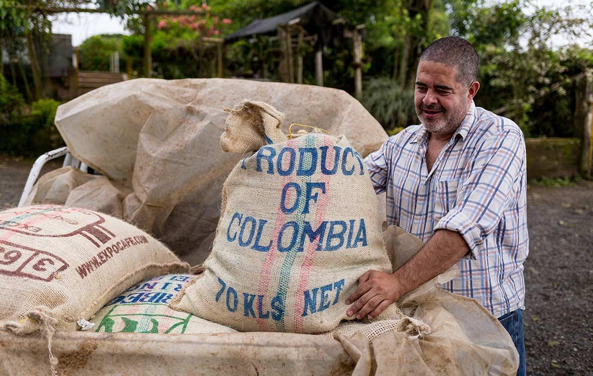 Kaffee aus der Kaffeeregion Kolumbiens: Eduardo's Kaffee
