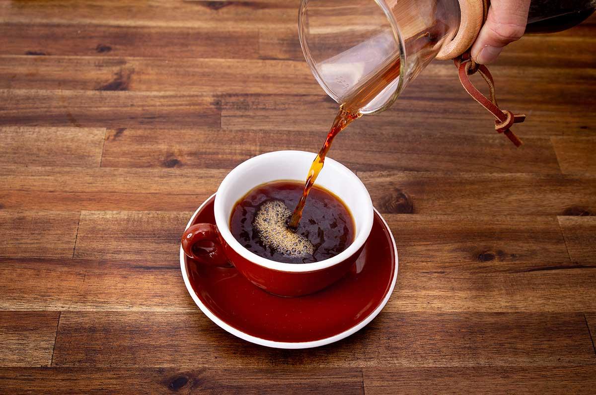 Wieviel Koffeein steckt in einem Chemex Filterkaffee?