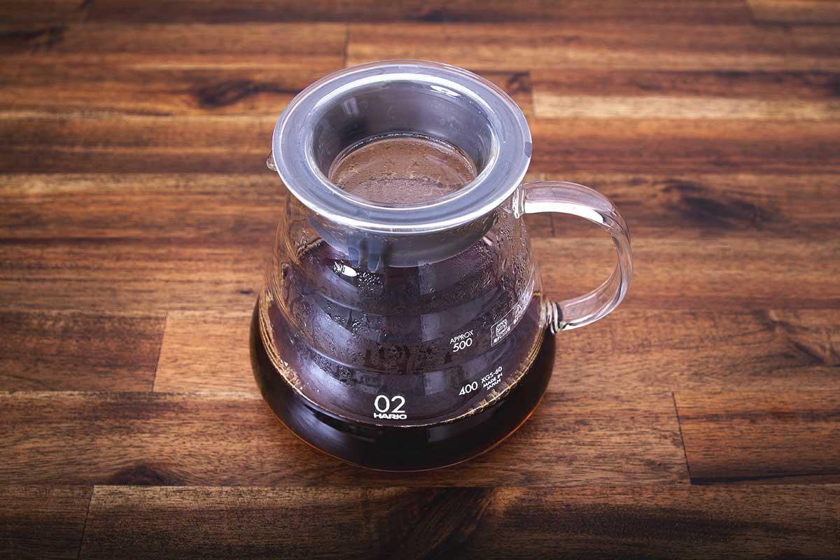Wieviel Koffeein steckt in einem Hario V60 Filterkaffee?