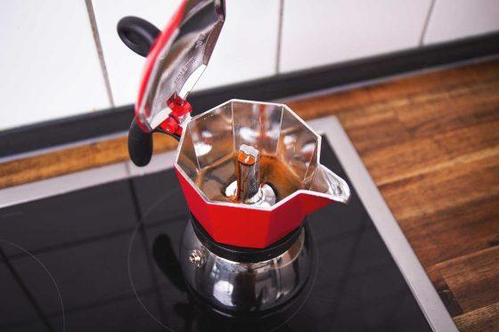 Espressokocher / Espresso-Herdkanne
