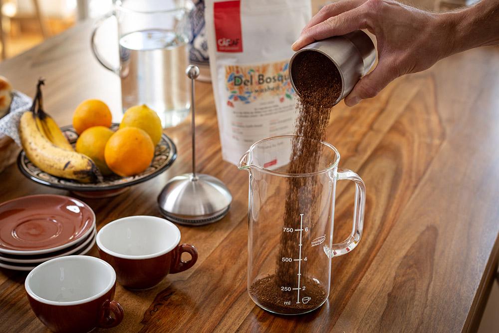 Die richtige Brew Ratio bei der Kaffeezubereitung