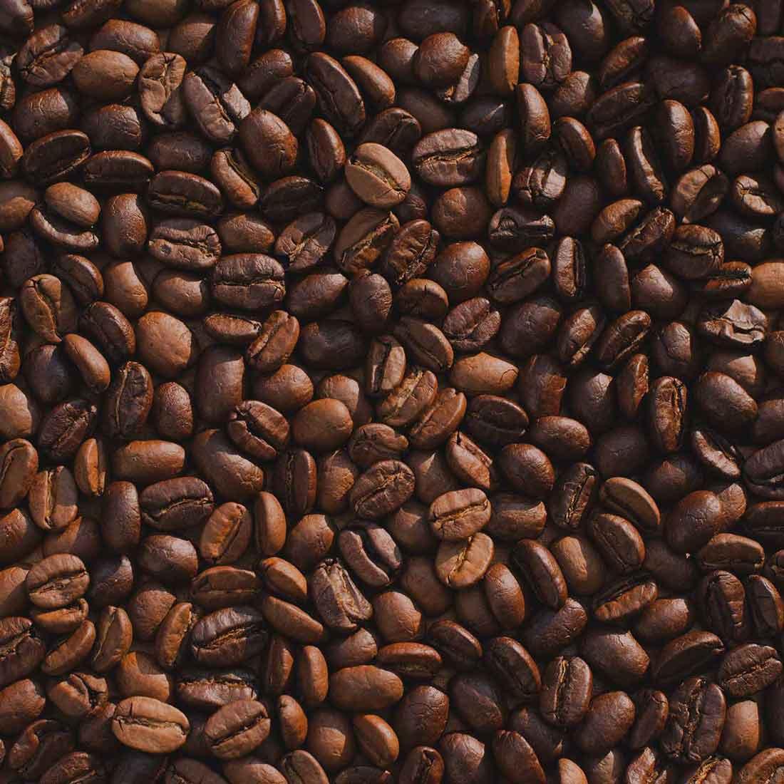 Kaffee nach dem Rösten.