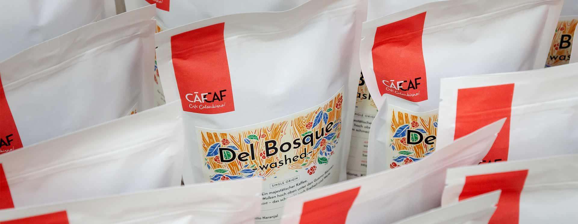 CafCaf Kaffeeshop für kolumbianischen Kaffee