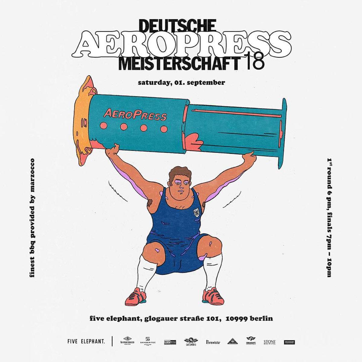 CafCaf-Kaffee Event: Deutsche Aeropress Meisterschaft 2018, German Aeropress Championship 2018