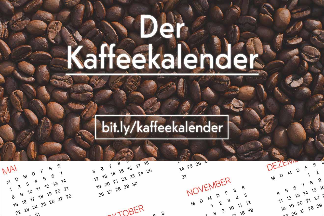 Der Kaffeekalender: Events und Veranstaltungen rund um Kaffee. CafCaf.de – Kaffee & Blog, Kaffeeblog