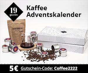 ANZEIGE: 19 grams Berlin, Kaffee Adventskalender – Kaffee & Blog, Kaffeeblog