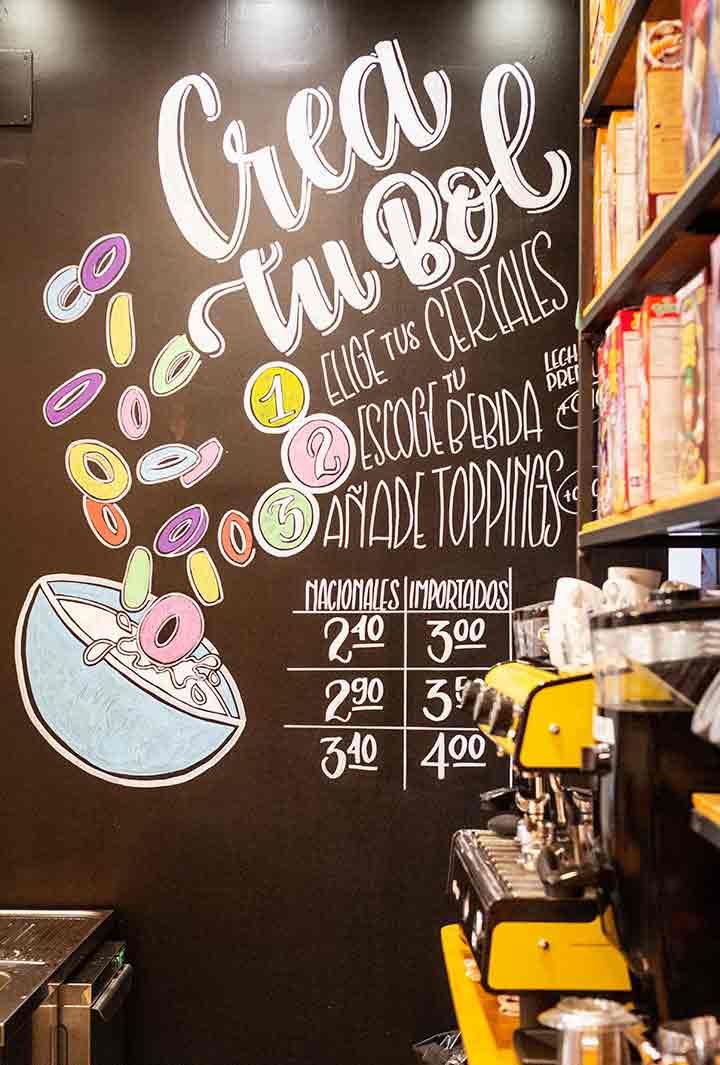 Crunch Cereal Cafe Sevilla. CafCaf – Kaffee & Blog, Kaffeeblog