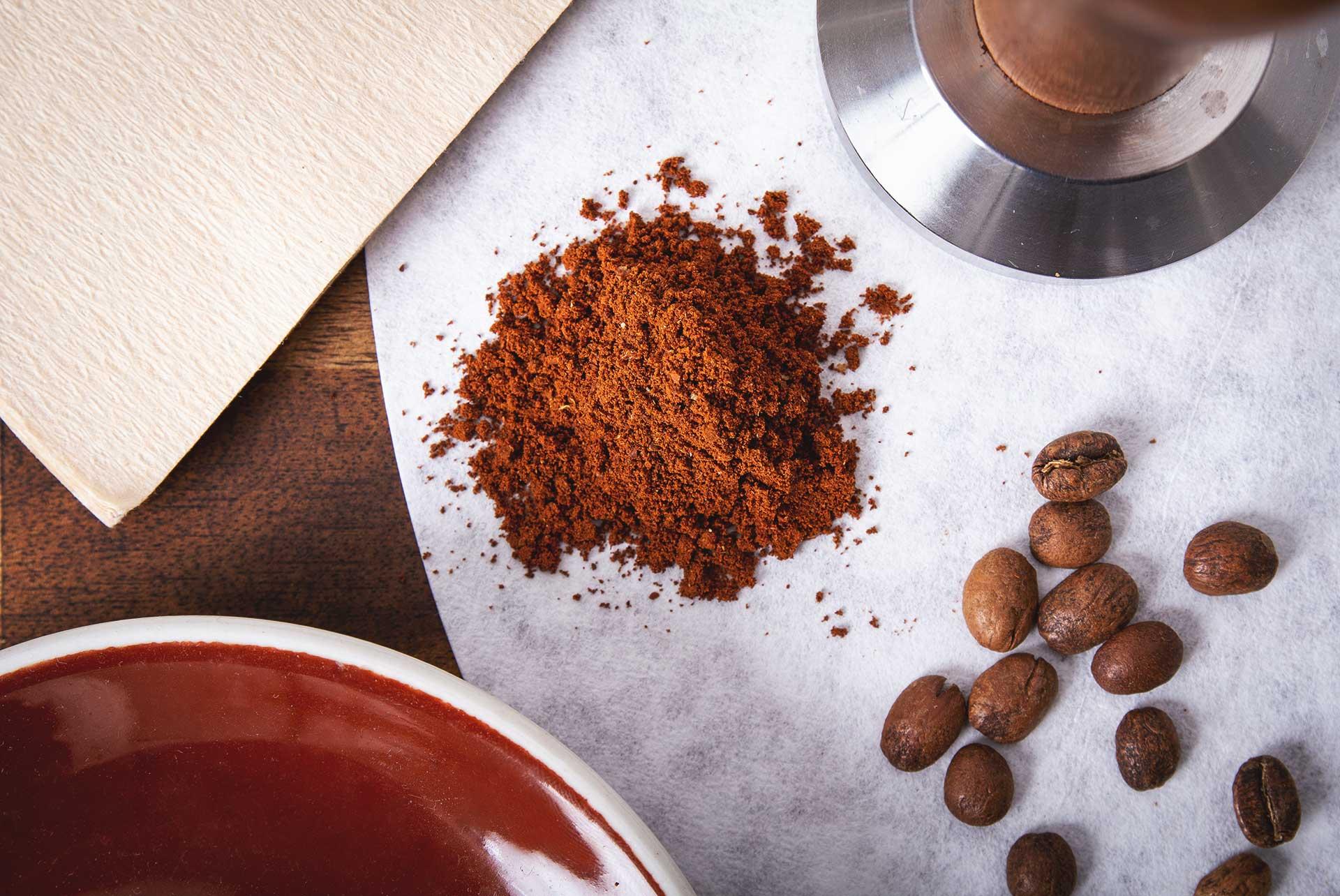Der richtige Mahlgrad bei der Kaffeezubereitung. CafCaf.de – Kaffee & Blog, Kaffeeblog