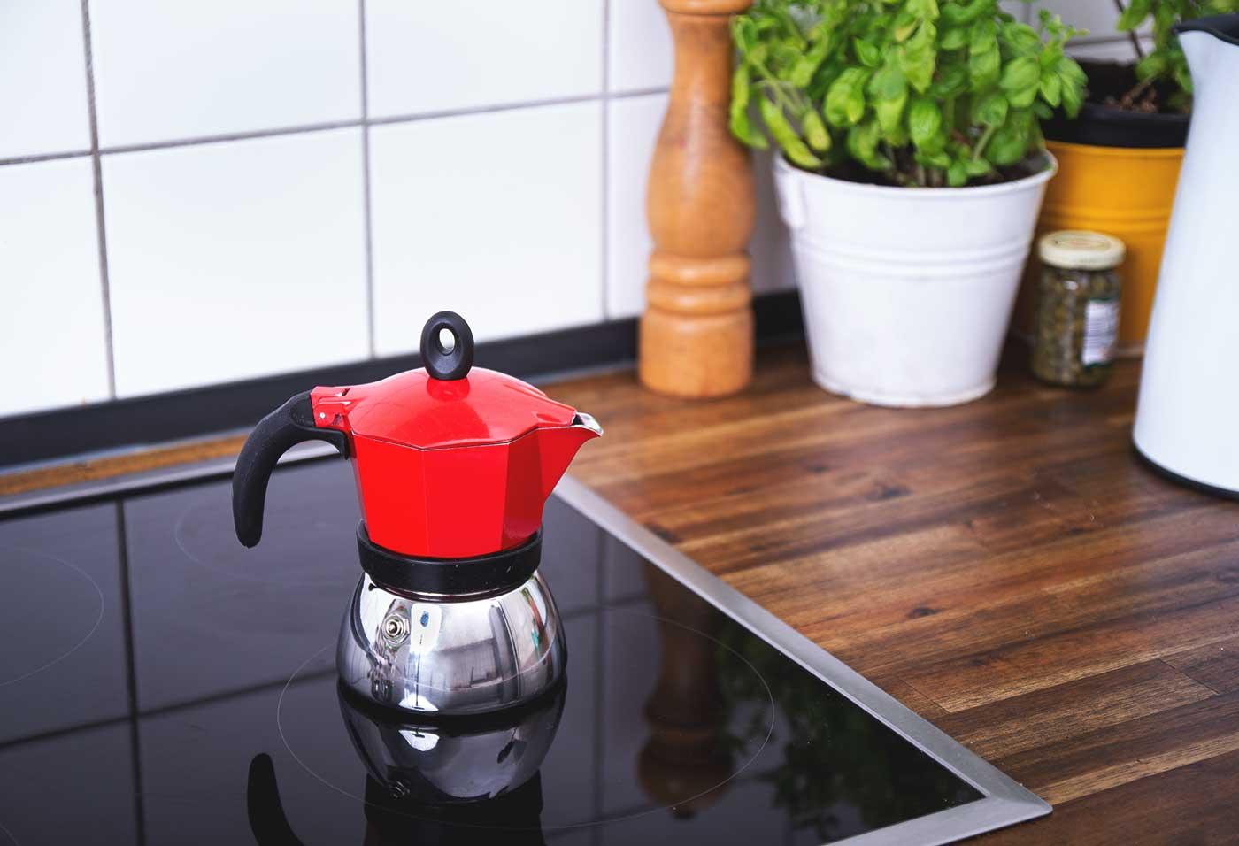 Schritt 3: Den Kaffee kochen