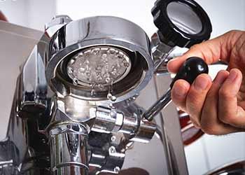 Kaffee-Technik und Schaubilder