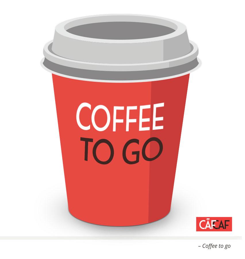 CafCaf Kaffee Blog, Kaffeeblog: Coffee to go to sit