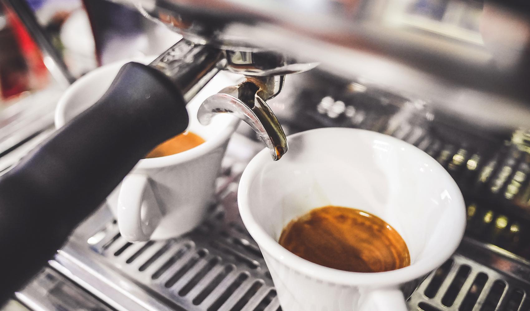 Typischer Espresso aus Italien