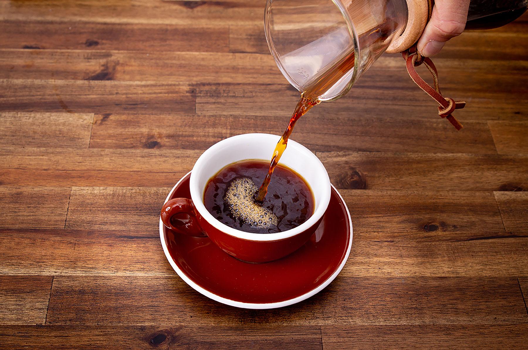 Frischer kolumbianischer Kaffee für dein Event