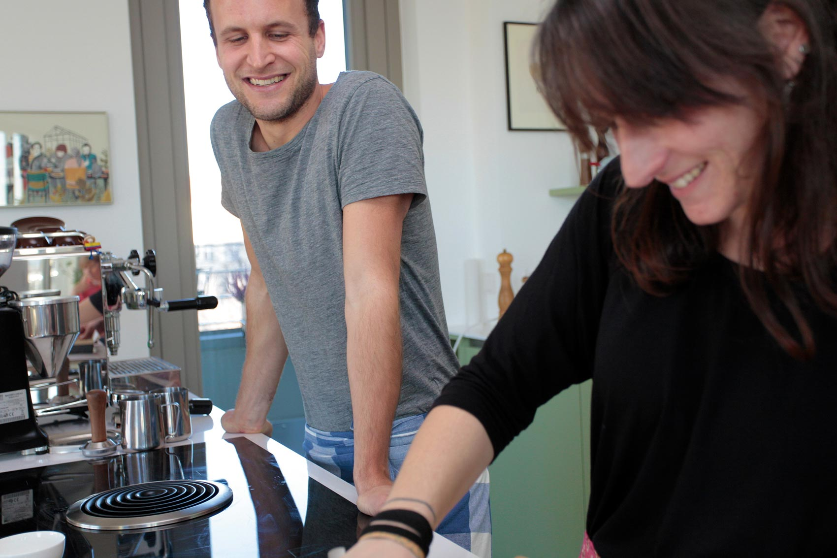 Kaffee Rezept: Coffee Carbonara Tagliatelle. CafCaf.de – Kaffee & Blog, Kaffeeblog