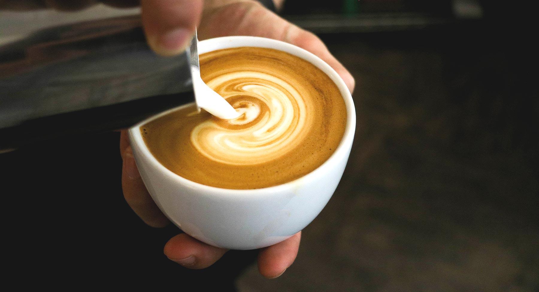 Flat White. CafCaf – Kaffee & Blog, Kaffeeblog
