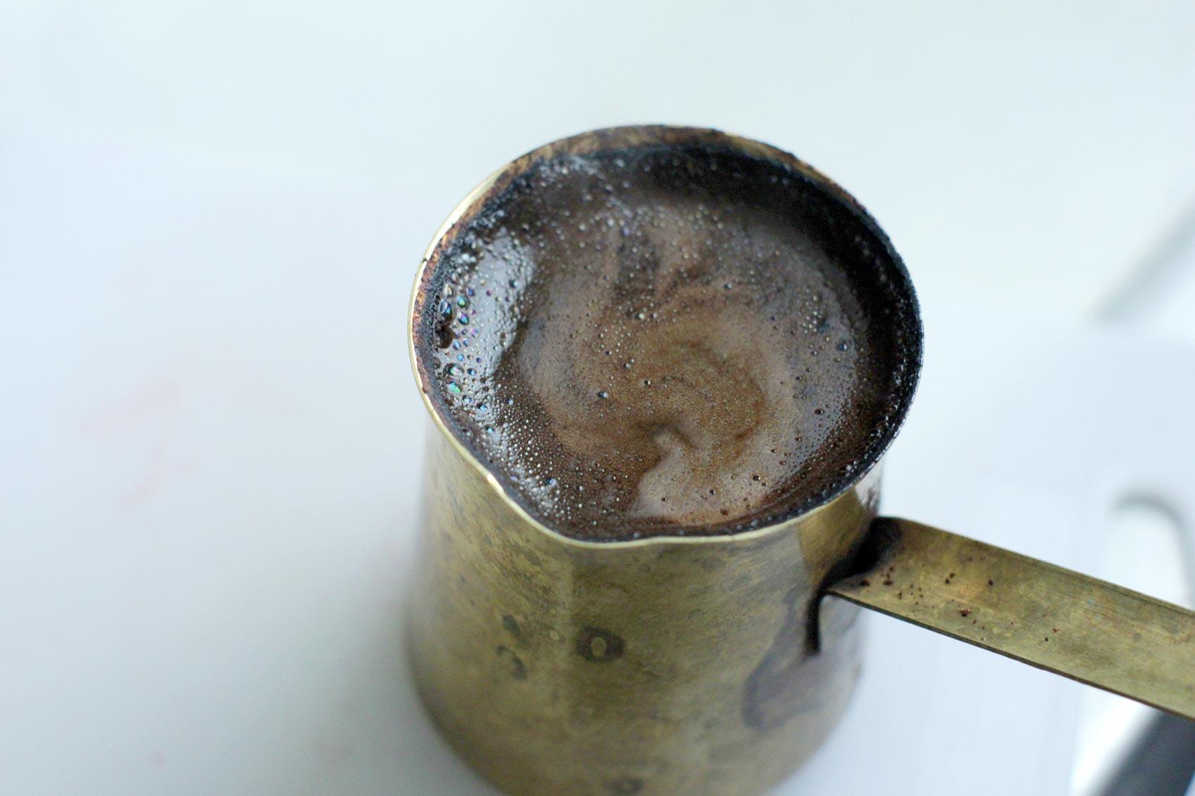 Türkischer Kaffee. CafCaf – Kaffee & Blog, Kaffeeblog