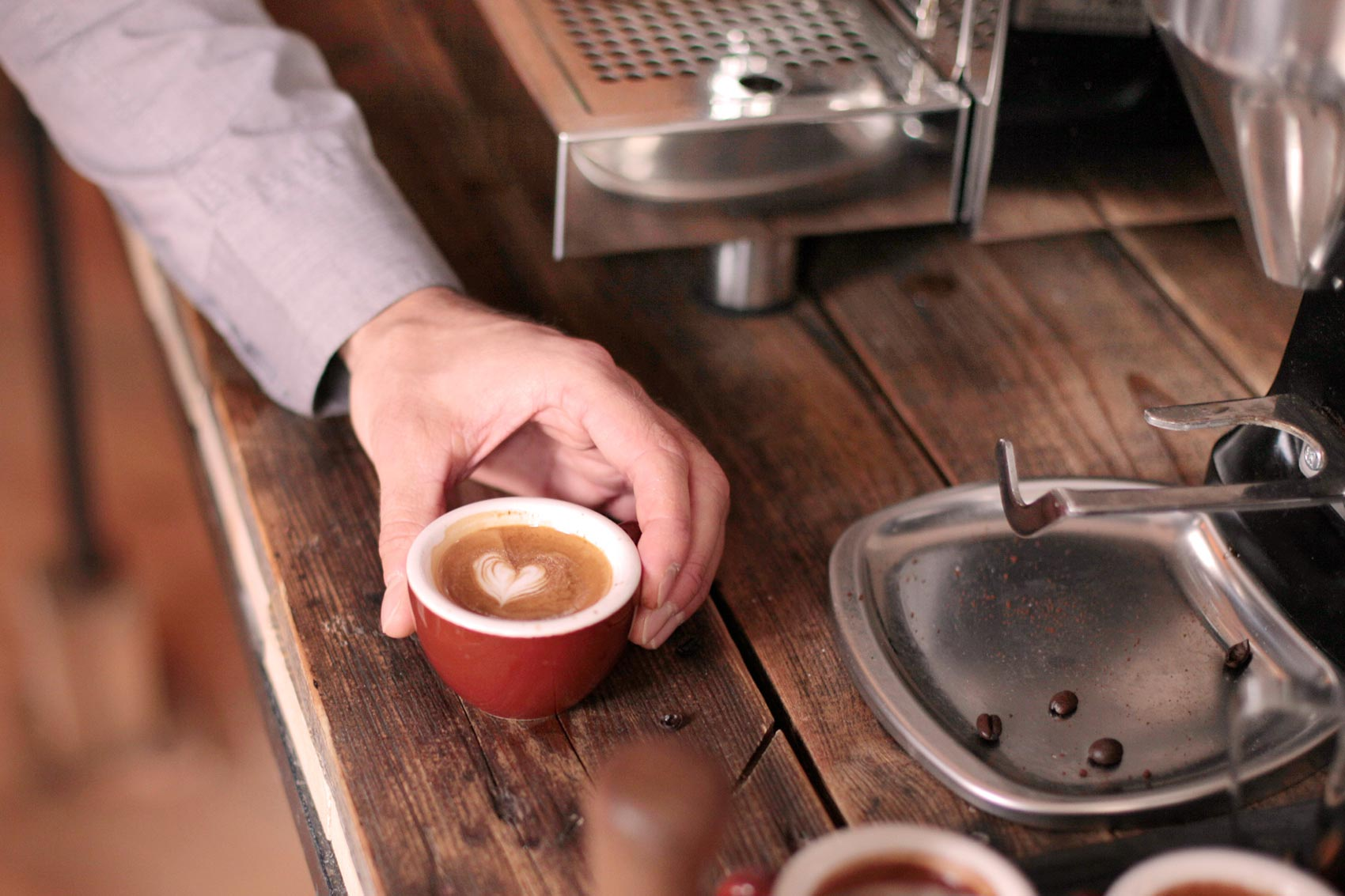 Kaffee ist Gourmet. Nur aufregender.
