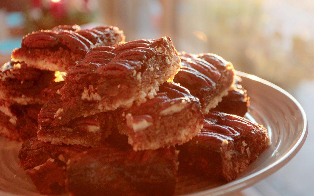 Recipe: Pecan Nuts Coffee Squares